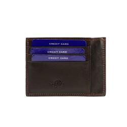 REGINA SCHRECKER - 392.RS341MA - CARD HOLDER - BROWN