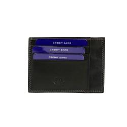 REGINA SCHRECKER - 392.RS341NE - CARD HOLDER - BLACK
