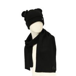 RENATO BALESTRA - RB8970-2 - SET HAT/SCARF FOR GIRL - BLACK
