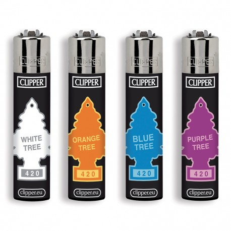 CLIPPER - LARGE COLOR TREES - 48 PEZZI