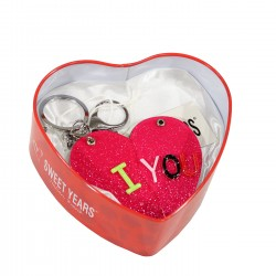 SWEET YEARS - 35289FU - KEY RINGS - FUSHIA