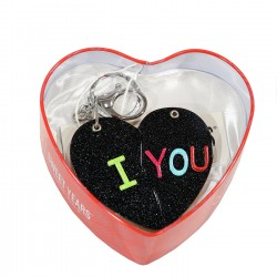SWEET YEARS - 35289NE - KEY RINGS - BLACK