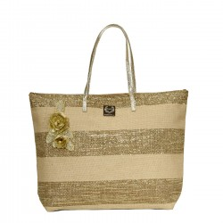 GIANMARCOVENTURI - 23392OR - WOMAN - SEA BAG - GOLD
