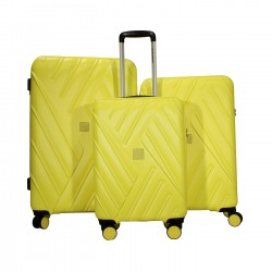 RAVIZZONI - 59220GIA - SET 3 TROLLEY - YELLOW