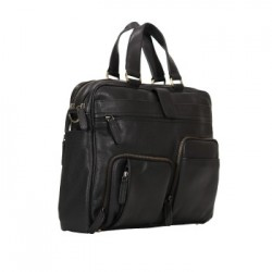 BRIEFCASE PAPELLCUBE  TIMELESS - B01 - NERO